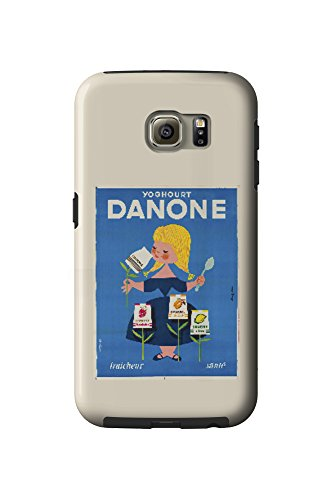 danone-vintage-poster-artist-gauthier-france-c-1955-galaxy-s6-cell-phone-case-tough