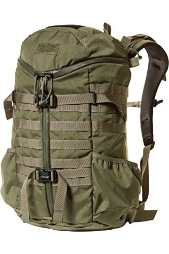 MYSTERY RANCH 2 Day Assault Backpack - Tactical Packs Molle Daypack, LG/XL Forest