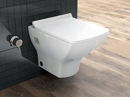 Aqua Bagno Taharet Design Dusch Wc Aus Keramik Wand Wc Toilette Mit