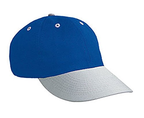 Hats & Caps Shop Brushed Cn Twill Sport Low Profile Pro Style Caps - Gry/Ryl - By TheTargetBuys