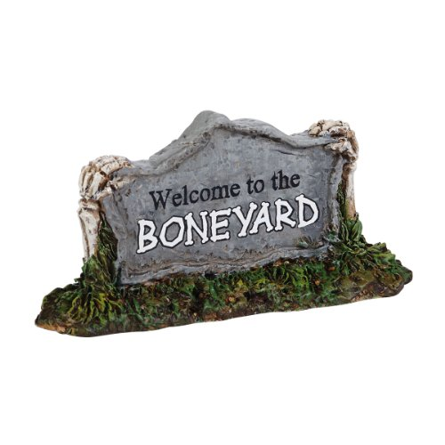 (Department 56 Accessories for Villages Welcome to the Boneyard Accessory Figurine, 0.98 inch)