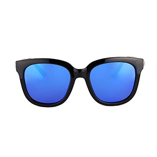 Gafas Pantalla Retro Mujer y 2 de Espejo para 4 YANJING HD de Color Sol Sol Hombre con para Color el Párrafo Mismo Drive Gafas ZqxnfaIwP