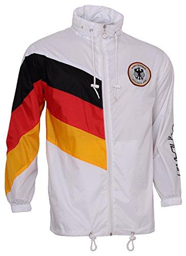 Skag, Regenjacke, Windjacke, Deutschland Weltmeister, World Cup, Jacke Für Fußballfans, Schwarz/Rot/Gold