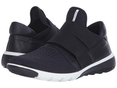 ECCO Sport(エコー スポーツ) メンズ 男性用 シューズ 靴 スニーカー 運動靴 Intrinsic 2 Slip-On - Black/Black [並行輸入品] B07BDRQRDB