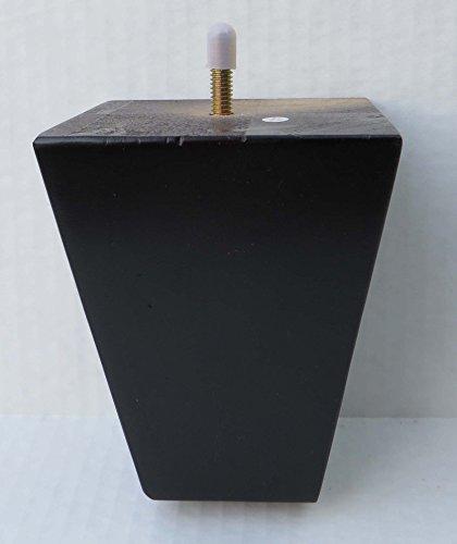 Alpha Furnishings Beautiful Pyramid Wooden Espresso Leg 5.5 Inch