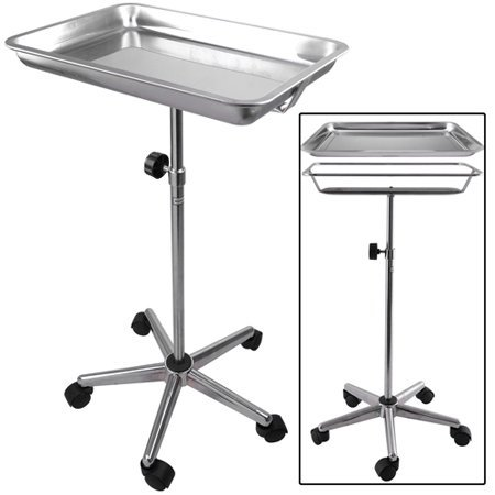 CHIMAERA Universal Mayo Stainless Steel Instrument Stand with Removable Tray and 5 Legs by CHIMAERA (Image #2)