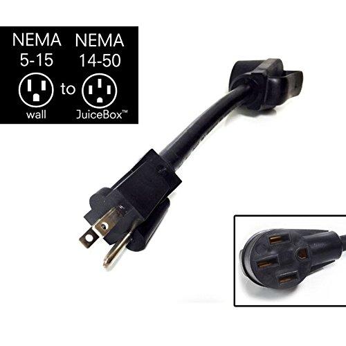 - JuiceBox Regular Household 120V Adapter NEMA 5-15