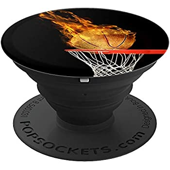Ball is Life Basketball - Design Series - PopSockets Grip and Stand for Phones and Tablets