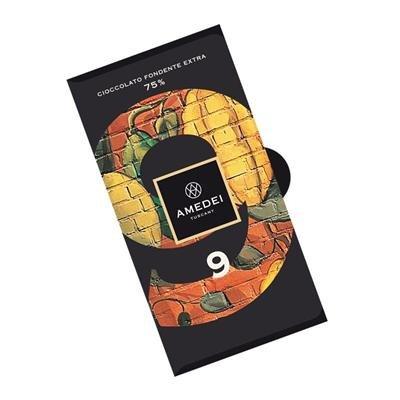 Amedei Signature '9' Blend Dark Chocolate Bar, 75% Cocoa - 3 pack ()