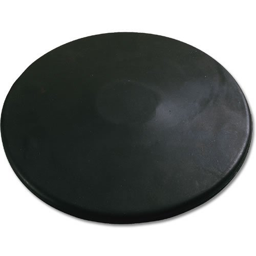 Nelco Practice 1.6K  Black Rubber Discus (Rubbers For School)