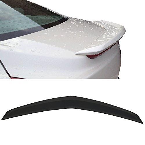 HIGUMA UNPAINTED for 2012 2013 2014 2015 2016 2017 Cadillac ATS 4D Rear Window Roof Spoiler