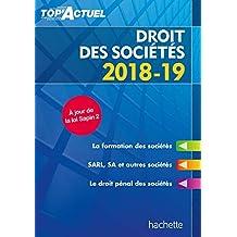 Top'Actuel Droit Des Sociétés 2018-2019 (French Edition)