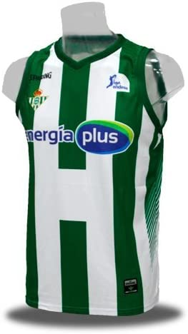 Spalding Camiseta de Baloncesto Oficial Real Betis Energía Plus ...