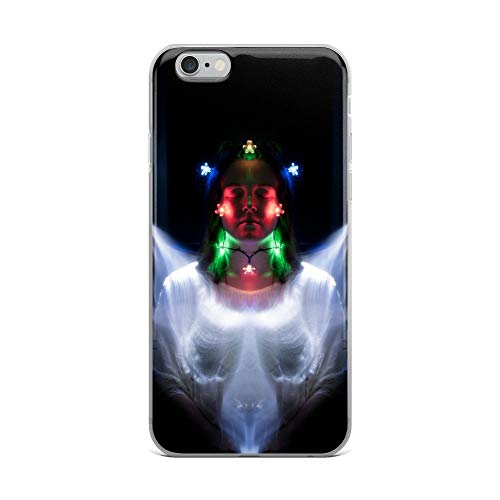 iPhone 6 Plus/6s Plus Case Anti-Scratch Creature Animal Transparent Cases Cover The Wolf Spirit is in Everyone Animals Fauna Crystal Clear