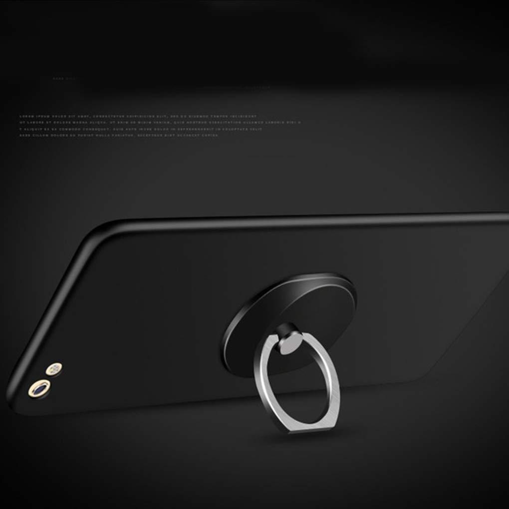 Boburyl Tel/éfono Celular del sostenedor del Anillo Ovalado de 360 Grados del Anillo Soporte de la rotaci/ón Pata de Cabra reemplazo para el iPhone