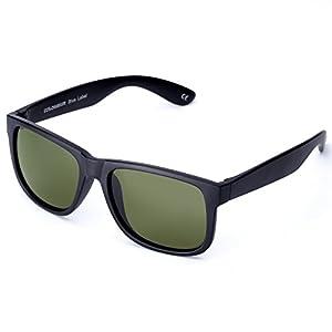Unisex Driving Sunglasses with TPE Frame, UV400 Men Classic Retro Glasses