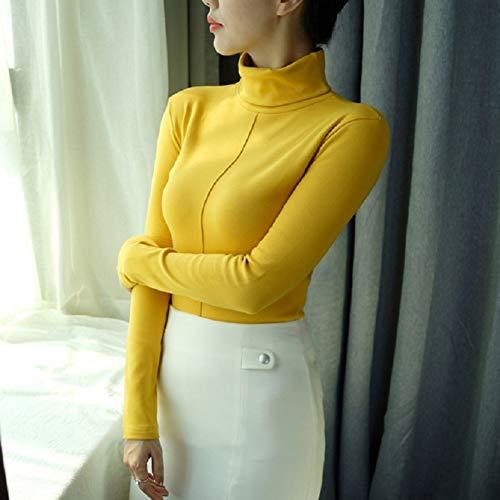 Alto Mujer Mujer Para Cuello Tfdgh Suéteres De L Otoño Suéter Xxxl Invierno 0z7BwFq