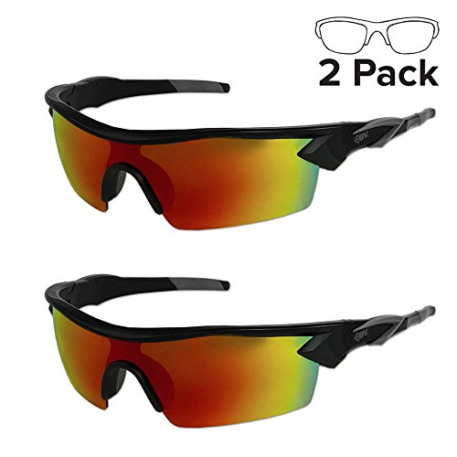Battle Vision HD Polarized Sunglasses by Atomic Beam, UV Block Sunglasses Protect Eyes & Gives Your Vision Clarity (2 - Eye Glasses Usa