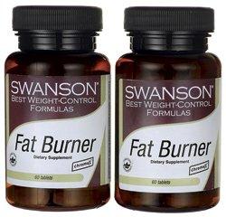 Fat Burner 120 Tabs par des formules Swanson Meilleur contrôle du poids