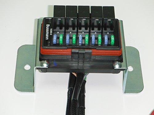 Universal waterproof relay fuse distribution box cooper