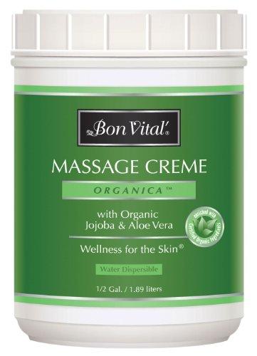 TheraBand Bon Vital' Organica Massage Crème, Professional...