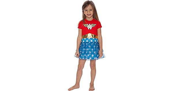 Logotipo de Mujer Maravilla Para Mujer Pijamas DC Comics Superhero Ropa para dormir