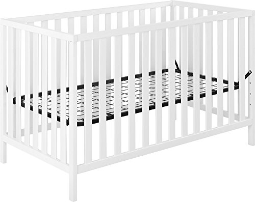 Ameriwood Home Charlotte Crib, White For Sale