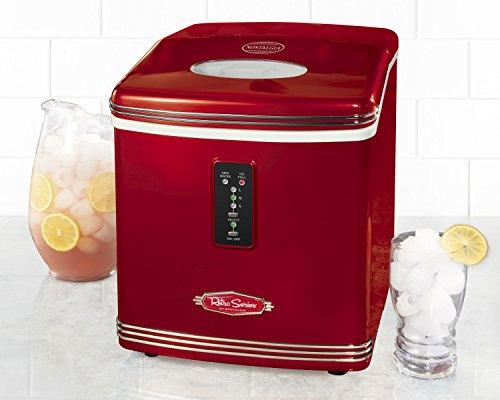 Nostalgia-RIC100-Retro-Series-26-Pound-Automatic-Ice-Maker
