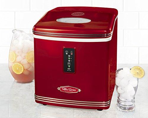 082677115812 - Nostalgia RIC100 Retro Series 26-Pound Automatic Ice Maker carousel main 1