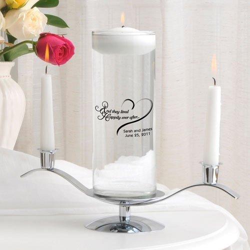 Personalized Floating Unity Candle Set - Destination Floating Unity Candle Set