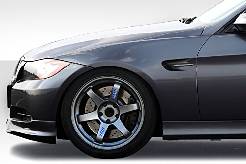 Duraflex ED-NWI-768 M3 Look Fender - 2 piece Body Kit - Compatible For BMW 3 Series 2006-2011 ()