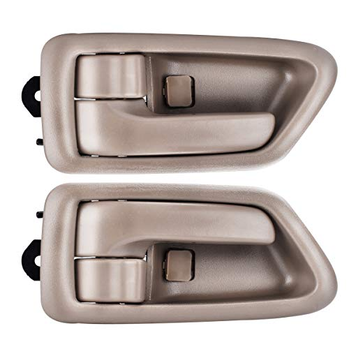 FAERSI 2Pcs Inside Interior Door Handle Front Rear Driver & Passenger Side for 1997 1998 1999 2000 2001 Toyota Camry ()