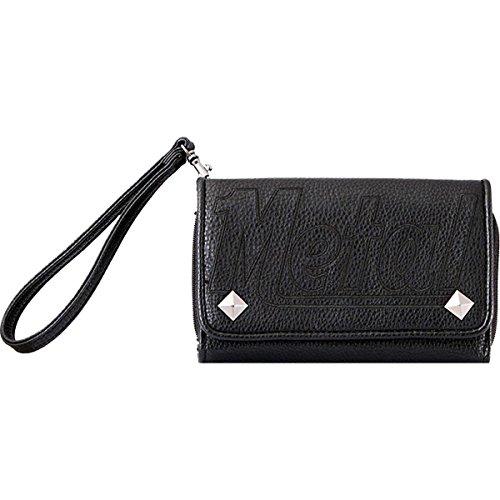 Metal Mulisha Women's Repeat Purse Wallets,One Size,Black