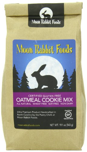 Moon Rabbit Gluten Free Wholesome Oatmeal Cookie Mix, 19.1-Oz