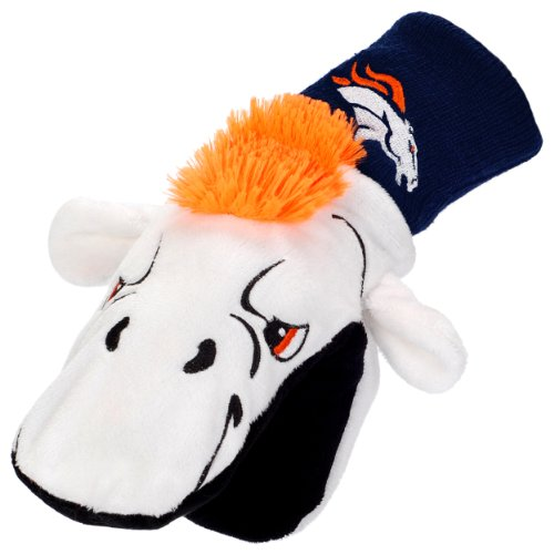 Denver Broncos Youth Mascot Mitten ()