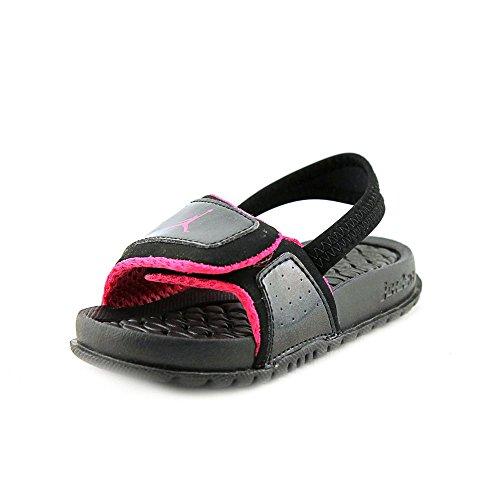 2d5997357bb3e0 Nike Jordan Toddlers Jordan Hydro 2 (TD) Black Vivid Pink Sandal 9 Infants  US - Buy Online in Oman.