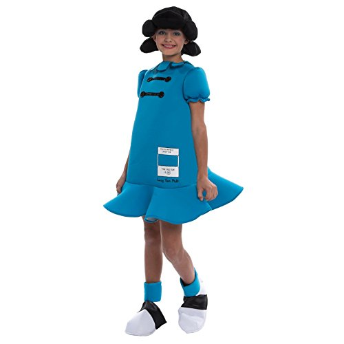 Lucy Peanuts Costume (Peanuts: Lucy Deluxe Kids Costume)