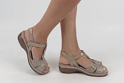 Sandali Plantare Donna estradibile Comfort PieSanto Grecia Vis Scarpe 180821 dqzdC