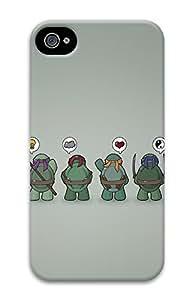 iphone 6 plus 5.5 Case Funny Tmnt Teenage Mutant Ninja Turtles 3D Custom iphone 6 plus 5.5 Case Cover