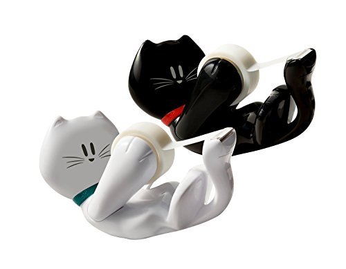 "Scotch C39KITTY Kitty Tape Dispenser, 1"" Core for 1/2"" & 3/4"" Tapes (MMMC39KITTY)"
