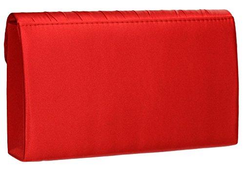 SwankySwans, Poschette giorno donna Taglia unica Red
