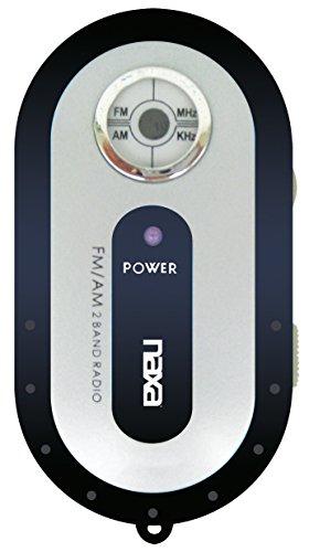 NAXA Electronics Portable Home Audio Radio,Black (NR-720 BK) (Naxa Pocket Radio)