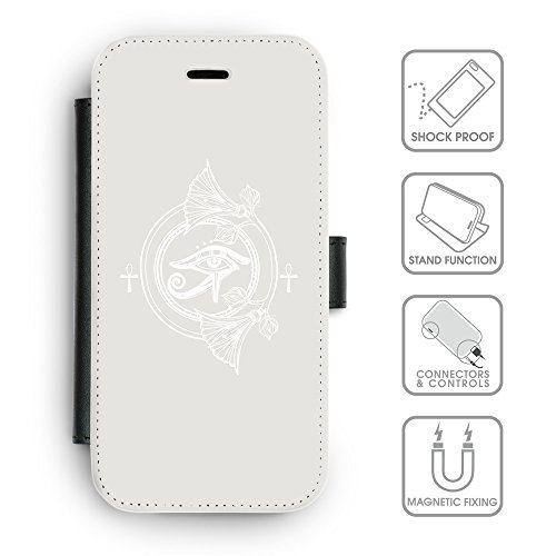 Flip PU Leather Wallet Case avec des fentes de carte de crédit // Q09850631 Religion 25 Platine // apple iPhone 6s 2015
