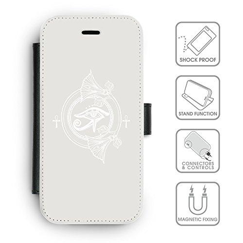 Flip PU Leather Wallet Case avec des fentes de carte de crédit // Q09880631 Religion 28 Platine // apple iphone 7 2016