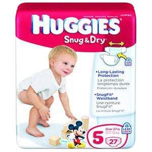 6940703 - HUGGIES Snug and Dry Diapers, Step 5, Big Pack