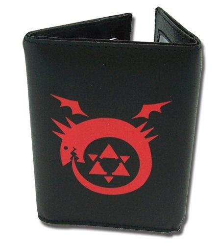 - Fullmetal Alchemist Brotherhood FMA Homunculus Symbol Leather Wallet