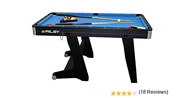 Riley - Mesa de Billar, Color Negro: Amazon.es: Deportes y aire libre