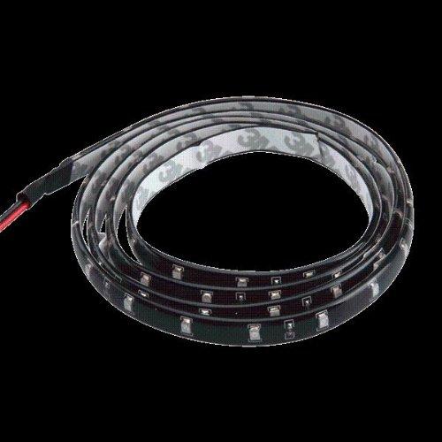 Bande Eclairage Flexible Lampe 12V 60 SMD LEDs 120cm Etanche Blanc