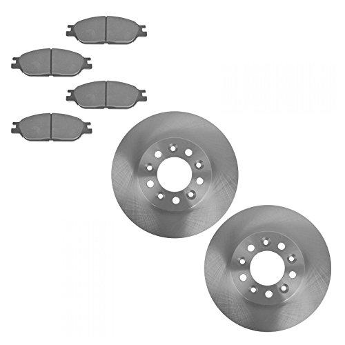 Front Disc Brake Pads & Rotors Kit Set for 99-03 Ford Windstar