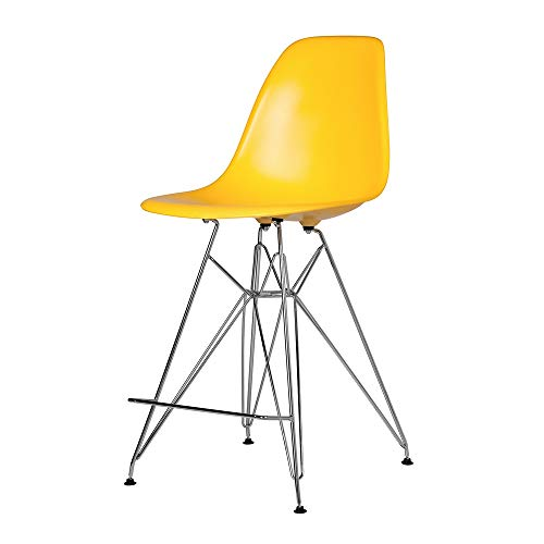 - Austin Furniture Molded Mid-Century Style DSW Counter Stool 27.5
